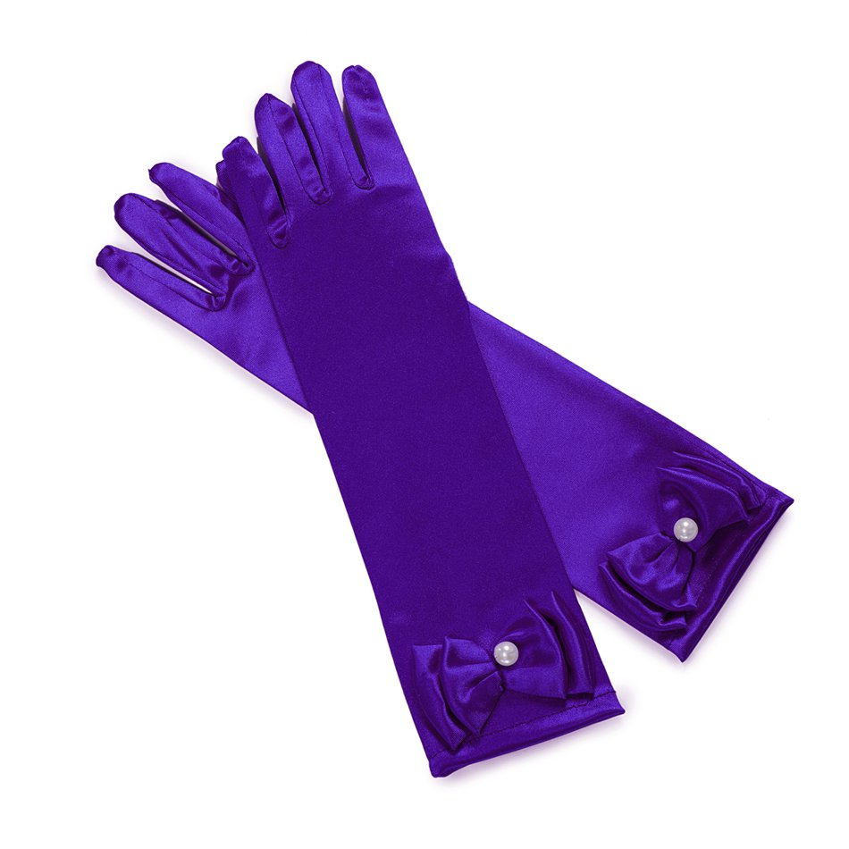 Girls Cosplay Costume - Purple Gloves