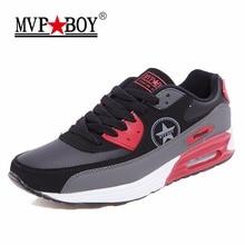 Mvp мальчик брендовая мужская обувь 2017 увеличивающая рост Кружева-up мужская повседневная обувь серии Classic Повседневная дышащая Мужская обувь красный Лидер продаж