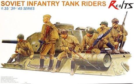 RealTS DRAGON 6197 1/35 Soviet Infantry Tank Riders