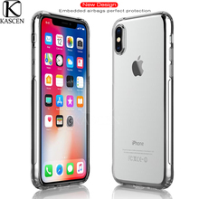 KASCEN Airbag Phone Cases For iPhone XR XS Max X 8 7 6 Plus Silicone Ultra-thin Soft Clear Protective Shell