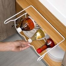 Fridge Organizer Kitchen Storage Rack Shelf Refrigerator Beer Bottle Rack Wine Holder Cupboard Organizer Shelves