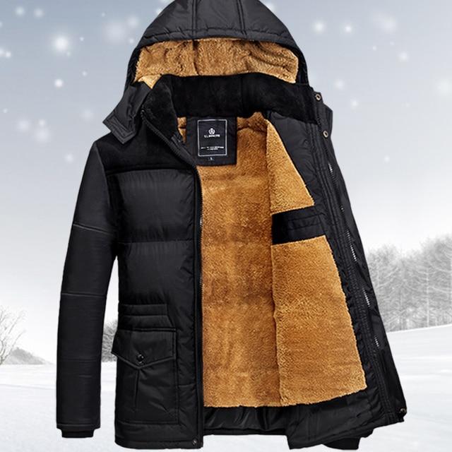 dab377dfba2f size M-5XL winter jacket men men s coat winter brand man clothes casacos  masculino Thick winter coat