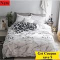 Бесплатная доставка  100% хлопок  4 шт.  комплект постельного белья  высокое качество  пододеяльник  простыня  матрас  наволочка  постельные при...