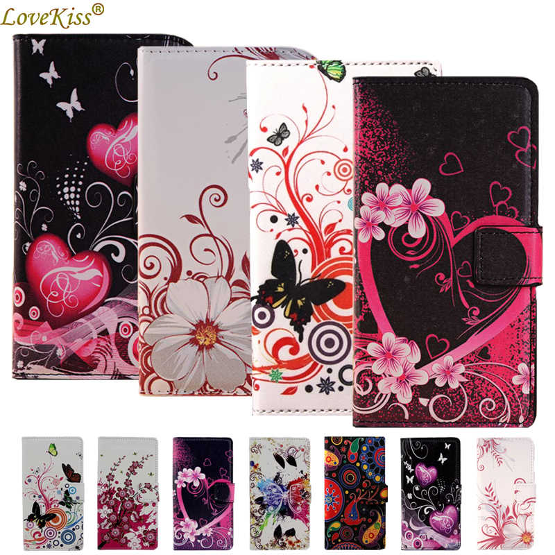 Flower Leather Wallet Phone Bag For LG K7 X210DS K8 K10 K4 2017 Nexus 5X Magna Leon G4C G3S G3 Beat mini Stylus G5 G6 Case Cover
