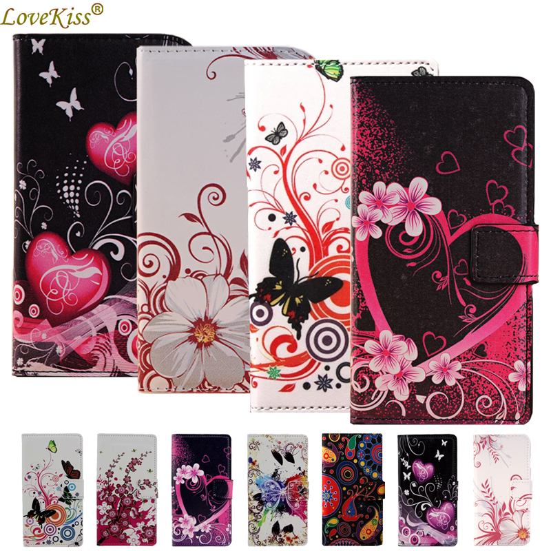 Flower Leather Wallet Phone Bag For LG K7 X210DS K8 K10 K4 2017 Nexus 5X Magna Leon G4C G3S G3 Beat mini Stylus G5 G6 Case Cover image