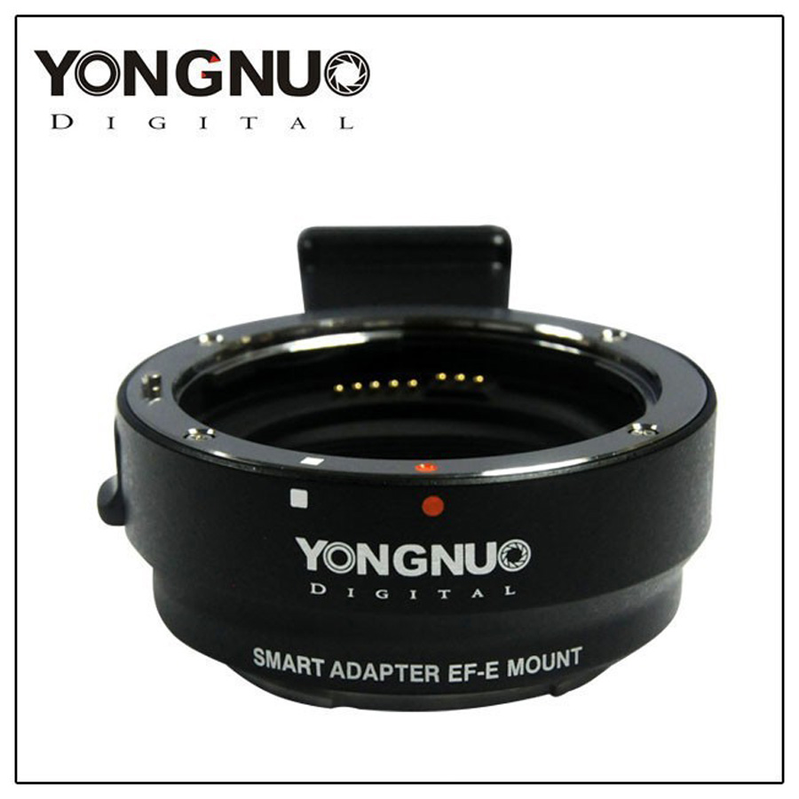 YONGNUO Original Camera Smart Adapter EF-E Mount for Canon EF EF-S Lens to Sony A6000 / A5000 / NEX7R / 7R new camera adapter mount for sony e nex nex3 nex5 nex7 to 1 25 extension tube