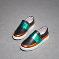 Children Casual Shoes New Style Fashion Loafer For Kids Slip-on Boys and Girls Genuine Leather Shoes