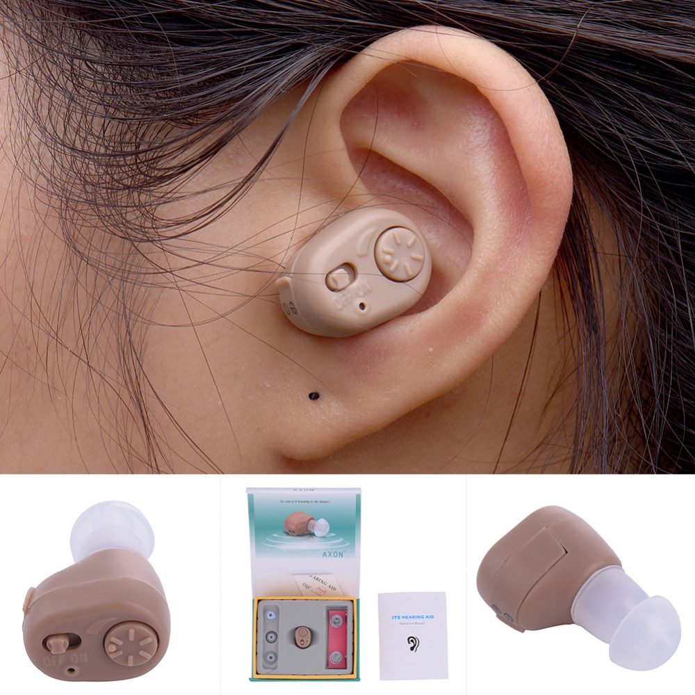 1 Set Hearing Aid Mini Ear hearing Controller Hearing Assistance Device Best Sound Amplifier Hearing Aids Ear Health Care Gift