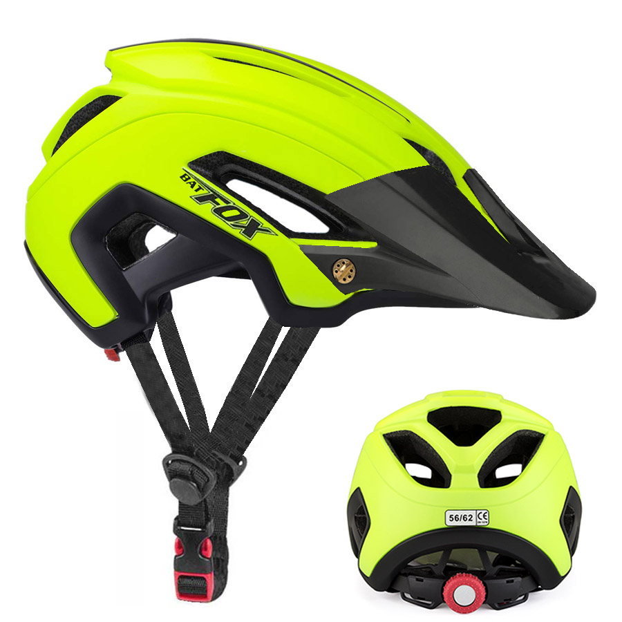 BATFOX Cycling Helmet Road Mountain bike helmet casco mtb Ultralight Bicycle Helmet Bike Cycling Helmet  capacetes para ciclismo(China)