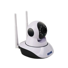 Dual Antenna 720p Pan/Tilt WiFi IP IR Camera Support ONVIF Max Up to 128GB Video Monitor ip camera