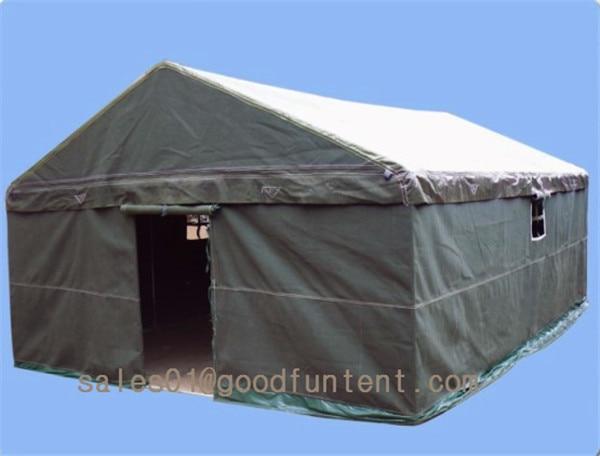 4m*6m Large Military Tent Construction Site Tent Cotton Canvas Tent & 4m*6m Large Military Tent Construction Site Tent Cotton Canvas Tent ...