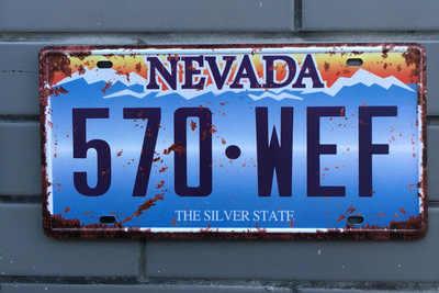حار الأمريكية سيارة عدد USA رخصة لوحات معدنية المرآب البلاك معدن القصدير تسجيل زخارف للحانات خمر ديكور المنزل 15x30 سنتيمتر