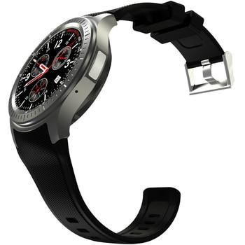 Reloj inteligente hombres Bluetooth 4,0 SIM Android 5,1 pulsómetro 3G Wifi MTK6580 Quad Core mujeres Smartwatch DM368 reloj de pulsera