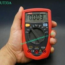 Megohmmeter Multimeter UNI-T UT33A Mini Palm size Ammeter Multitester automatic range Digital Multimeter DC/ AC Resistance