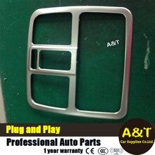 Для Hyundai IX35 2012-2016 ABS Хромированной отделкой передней лампы Для Чтения украшения высокого качества chrome наклейки обрезать стайлинга автомобилей 1 шт. автомобиль