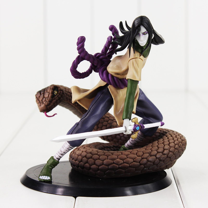 15cm Orochimaru model toy Hot Japan Naruto Anime Action Figure pvc model good Halloween gift free shipping