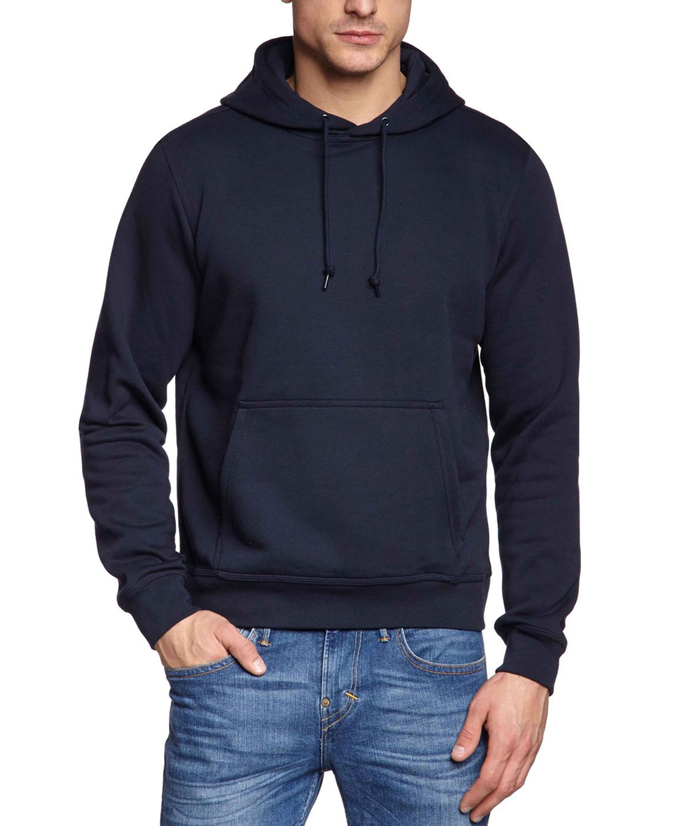 fashion hooded funny solid colors hoodiess