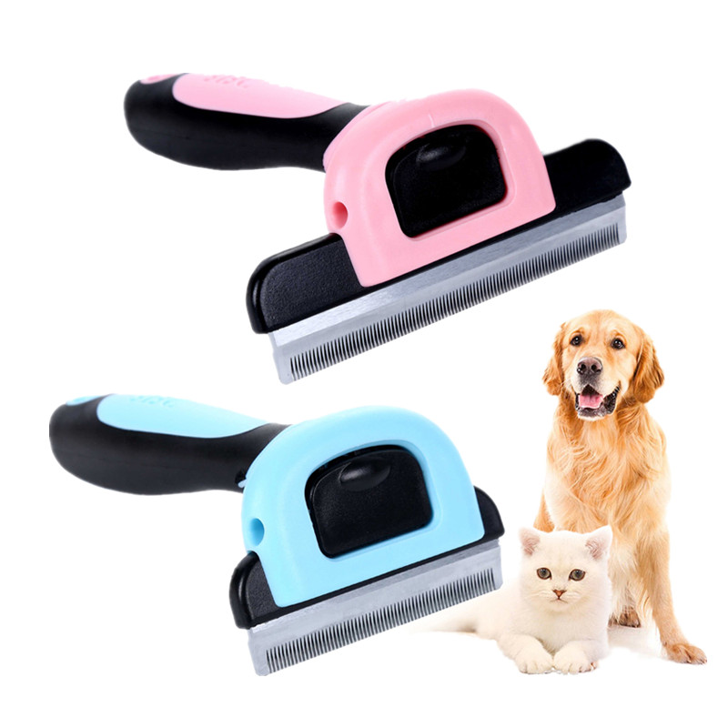1PC Hair Remove Epilator Dog Cat Brush Grooming Tools Detachable Clipper Attachment Pet Trimmer Combs for Cat Pet Supply Furmins sv