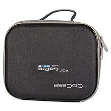 цены New EVA Portable Handbag Travel Storage Protective Bag Case for Gopro Hero 2/3/3+/4/4 S/SJCAM SJ4000/SJ5000/XIAOMI YI Canera