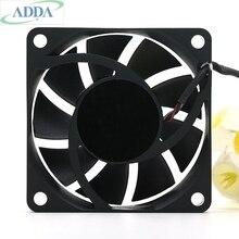 Marka ADDA AD0612LX H93 6015 12 V 0.13A 6 CM Ms614 projektör soğutma fanı