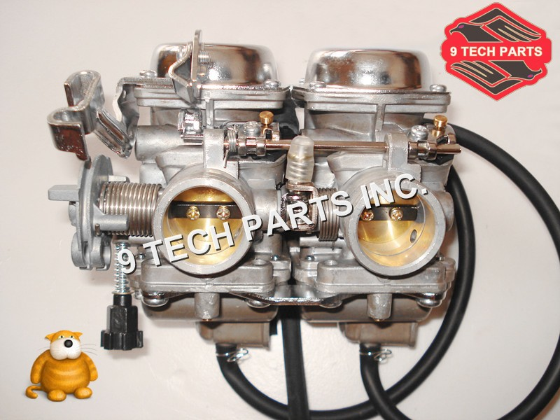 PD26JS Duplex Twin Cylinders Rebel Motorcycle Carburetor Assy Set Chamber Set for KEIHIN CMX 250 CBT250 CA250 DD250 300cc vector js 100 pro set