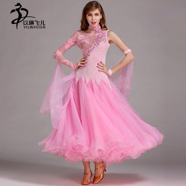 Бальные Стандартный Танцы платье женские вальс танца Конкурс платье Профессиональный бальные танцы платье женщины бальные платье скулы
