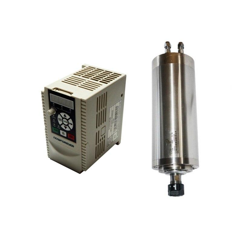 CNC partie 800 w 1500 w broche 1500 w 2200 w VFD onduleur fréquence convertisseur moteur électrique bricolage bois CNC fraiseuses