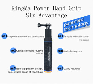 Image 3 - 5200mAh Battery Hand Grip Monopod W/Base Mount Holder Fixed 1/4 Screw USB Charging Port Type C for Dji Osmo Pocket Accessories