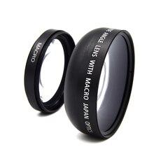Voor Sony Camera Lens 49Mm 0.45X Professionele Breed Camera Angle & Macro Lens Voor Alle Camera S Camcorders Voor Sony een NEX3 NEX5 Nex