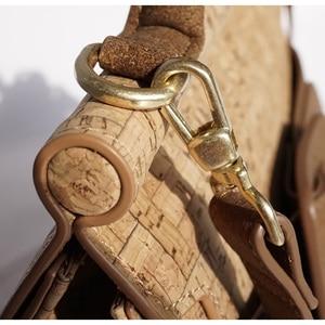 Image 2 - KAOGE Vegan Luxus Natürliche kork tasche Frauen Handgemachte Schulter Taschen Antifouling Handtasche Designer Taschen Damen Hand Tasche