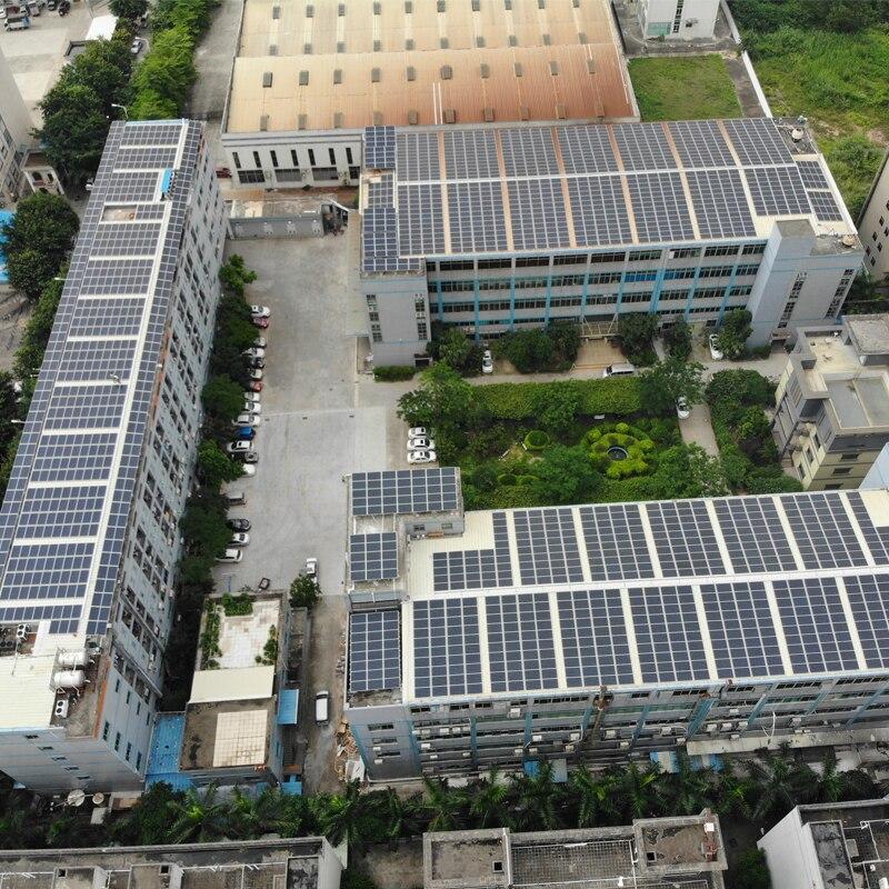 TUV Solar Panel Monocrystalline 300w 24v 10Pcs Charger System 3KW 3000w Floor Roof Caravan Car Camping