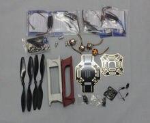 F02192-J JMT RC 4 Axle Multi heli Quadcopter ARF Kit : F450 Frame + KK Flight Control Board + HOBBYWING ESC + Carbon Fiber Pros
