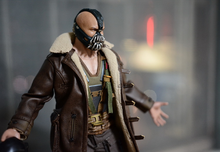 1:6 scale Super flexible figure Batman The Dark Knight Rises bane 12 action figure doll Collectible Model plastic toys .No box toys rocka batman the dark knight joker pvc action figure collectible model toy eyes can move 14cm