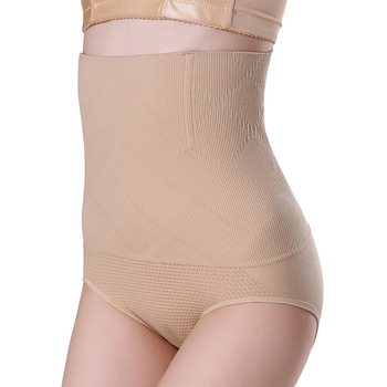 SH-0001 Women High Waist Shaping Panties Breathable Enhanced Body Shaper Slimming Tummy Underwear panty shapers 1