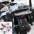 Universal de 7 Colores 6mm aleación de aluminio Decoración Tornillos marco de la matrícula del vehículo Eléctrico boltsfor Motocicleta