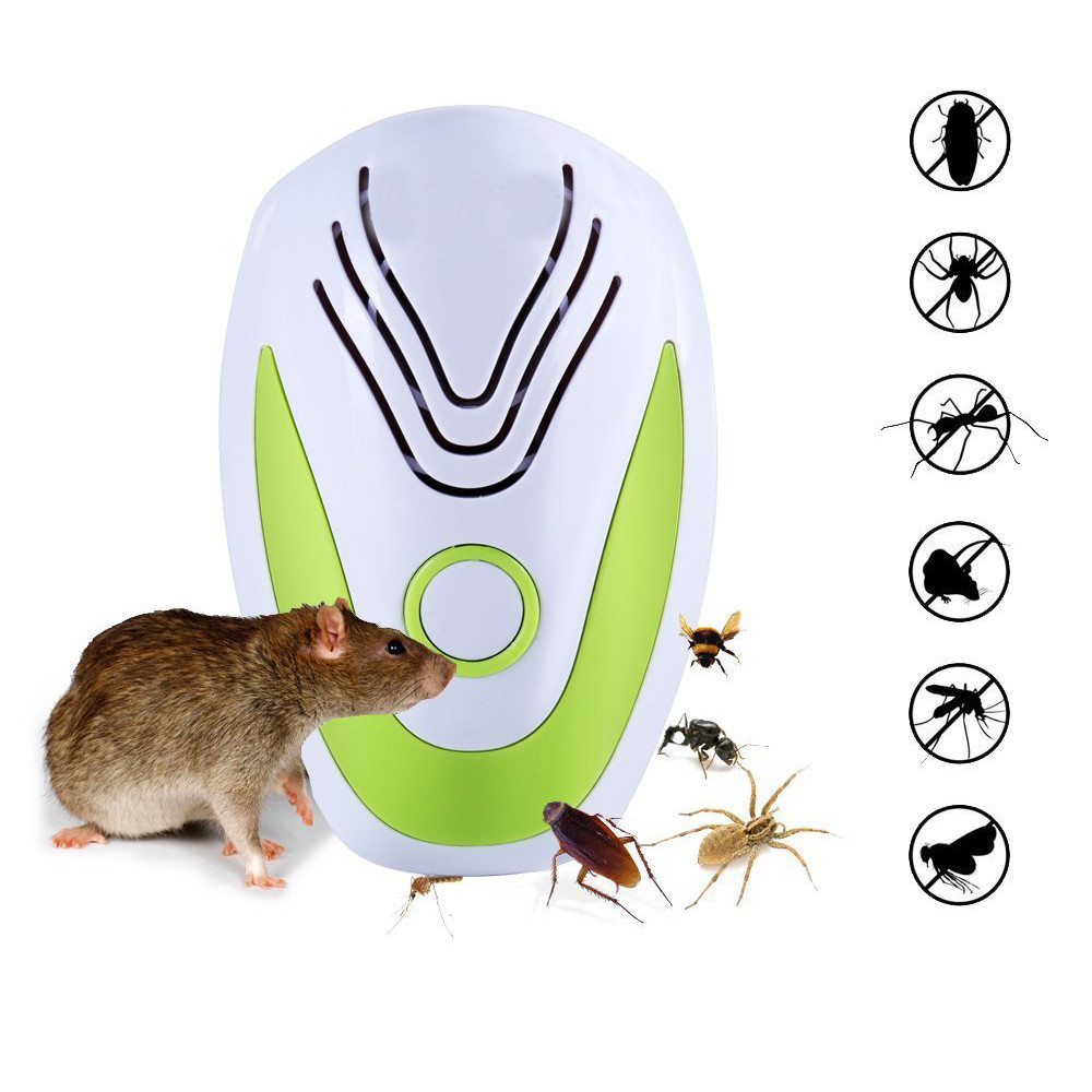 4Pack Ultrasonic Pest Repellent Electronic Pest Control Plug In Repeller