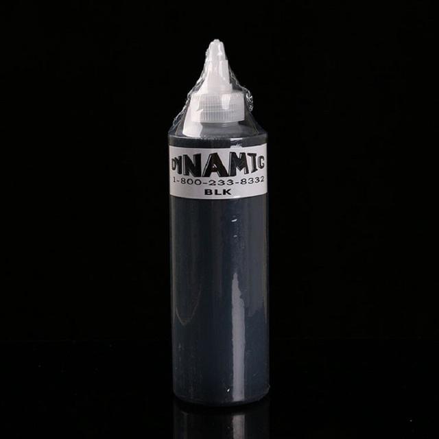 1 Pcs Tatuagem Dinâmica Cor Do Tatuagem Pigmento Da Tinta 250 ML Preto kit para Forro e Sombreamento Mais Novo Tribal Liner Shader pigmento Professio