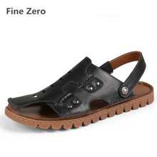 Fine Zero 2017 Big Size Men font b Sandals b font Summer Fashion Men Casual font