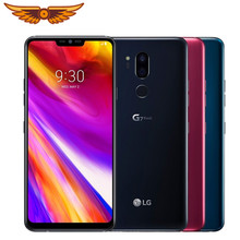 Orijinal LG G7 ThinQ G710N 6.1 inç Octa çekirdek 4GB RAM 64GB ROM LTE 4G 16MP çift arka kamera Android Unlocked cep telefonu