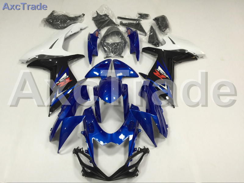 Motorcycle Fairings For Suzuki GSXR GSX-R 600 750 GSXR600 GSXR750 2011-2014 11 - 15 K11 ABS Plastic Injection Fairing Kit Blue new motorcycle ram air intake tube duct for suzuki gsxr600 gsxr750 k11 2011 2012 abs plastic black