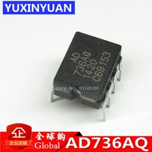 AD736JNZ AD736JN AD736AQ CDIP8converter AD736 DIP8 4 channel multiplexer 10PCS/LOT Low Cost, Low Power, True RMS to DC Converter