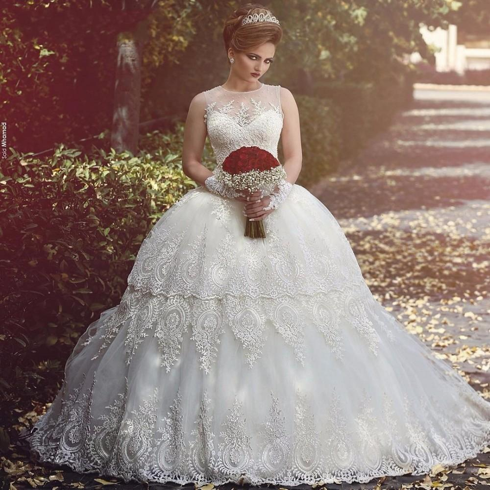 Online buy wholesale big wedding gown from china big for Big ball gown wedding dress