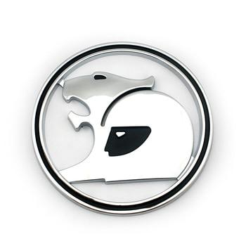 Kolor chrom zwyczaje Auto odznaka kierownica dekoracja 69MM Hsv lew znaczek na samochód naklejki z logo