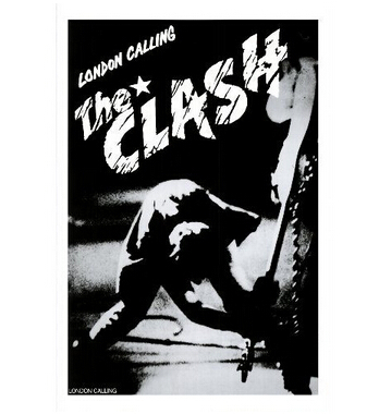 The Clash Custom Best Nice Stylish Classical Home Decor Fashionable Mondern Poster Size (50x76cm) Wall Sticker Free Shipping