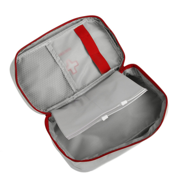Multifunctional outdoor Portable Handheld Medical Bag First Aid kit Pattern Medicine Storage Bag