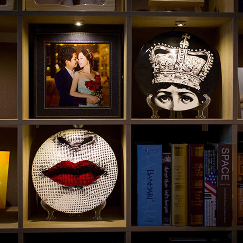 Fornasetti 12-Polegada Placa Pratos de Jantar de Porcelana Home Decor Arte Da Parede Decorativo