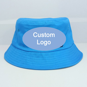 Customize embroidery stitching logo hat custom color big one size fit most outdoor fishermen fish fishing cap custom bucket hat