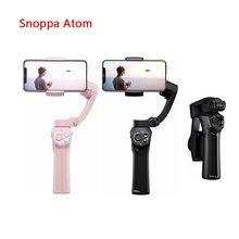 Snoppa Atom 3-Axis Складной Карманный ручной шарнирный стабилизатор для камеры для iPhone смартфон GoPro и Беспроводной зарядки PK гладкой 4