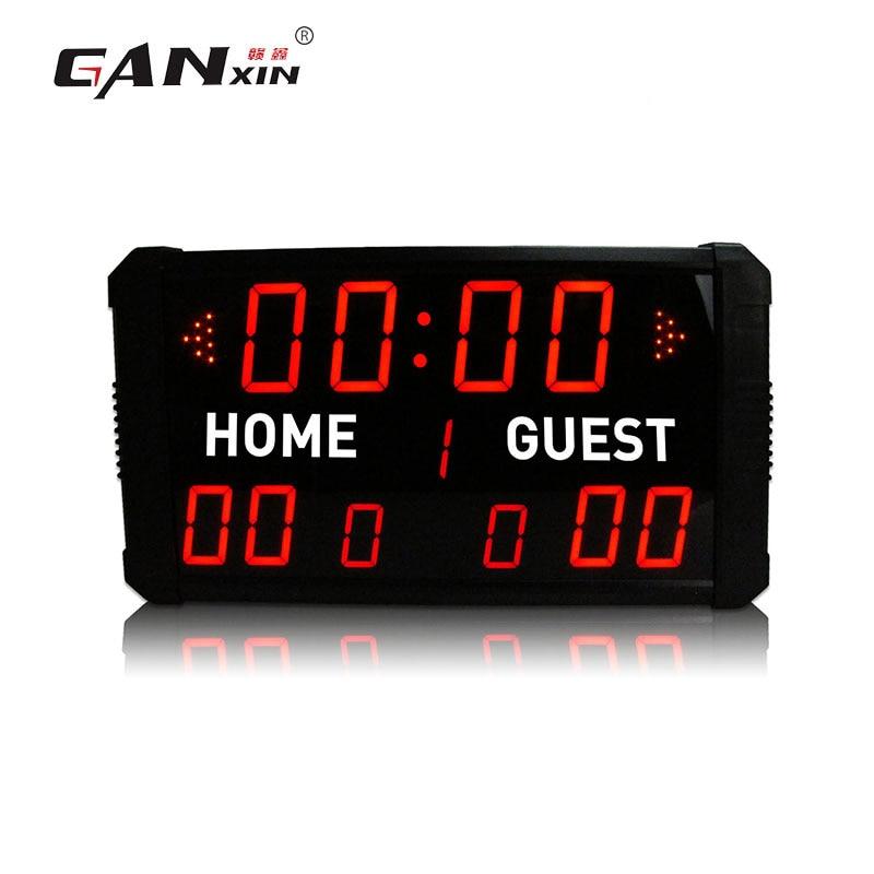 [Ganxin] tableau de bord de football numérique avec tableau de bord de basket-ball télécommandé
