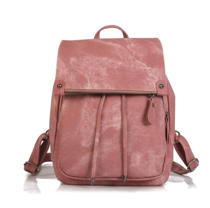 d5b320080948 Рюкзак женские цветные PU кожаные рюкзаки Femal школьная сумка для девочек  mochilas kanken packbag подросток bookbag